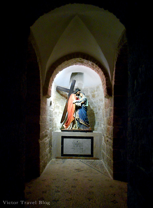 Via Dolorosa the Way of the Cross