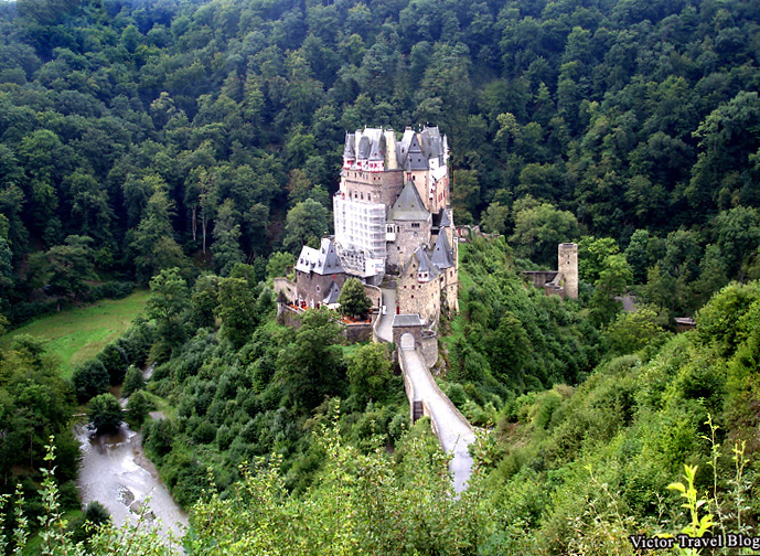 Castles of Germany. Burg Eltz