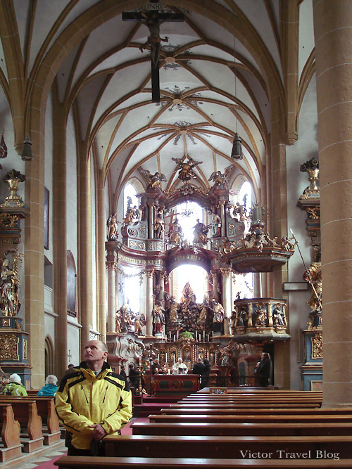 Bad Hofgastein Church inside