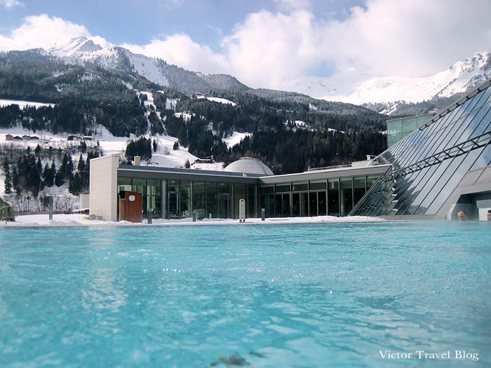 Bad Hofgastein Alpentherme Outdoor Pool