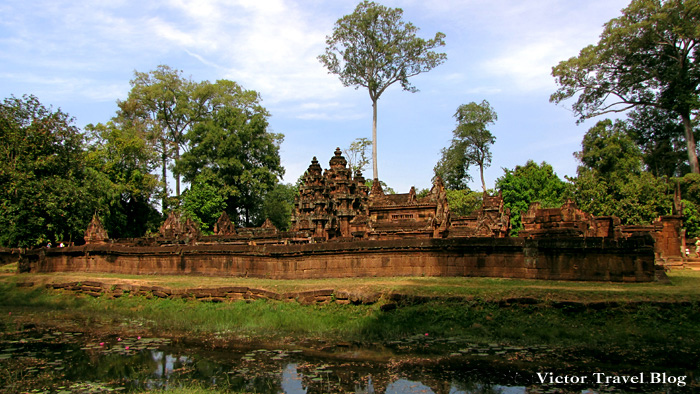 Banteay Srey - woman temple in Angkor Cambodia