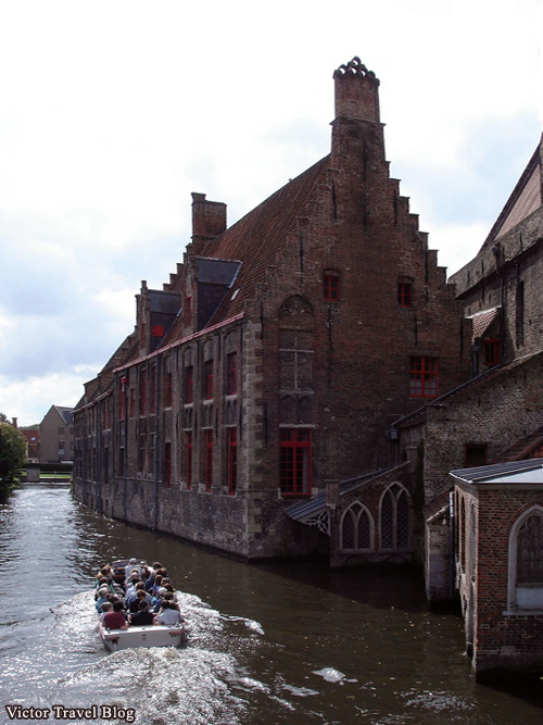 Photo of Bruges in Belgium.