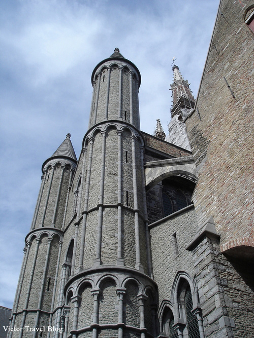 Church in Bruges, Belgium