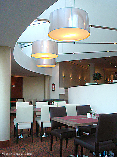 The restaurant Sheraton in Airport of Dusseldorf