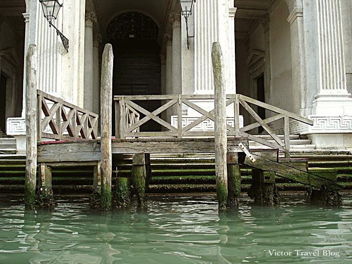 Venice sinking. Italy.