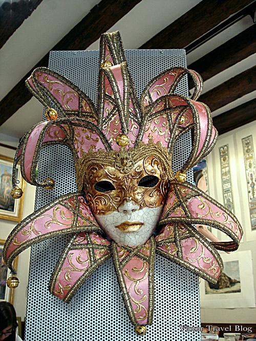Carnival mask. Venice, Italy.