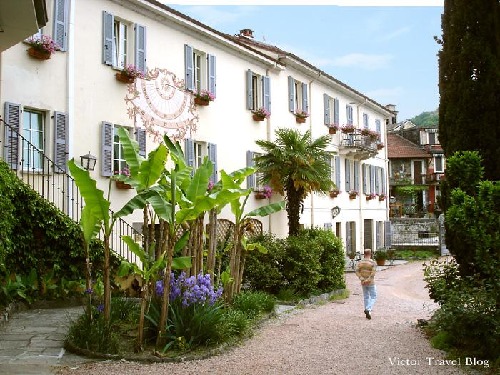 Camin Hotel Colmegna on Lake Maggiore in Italy.