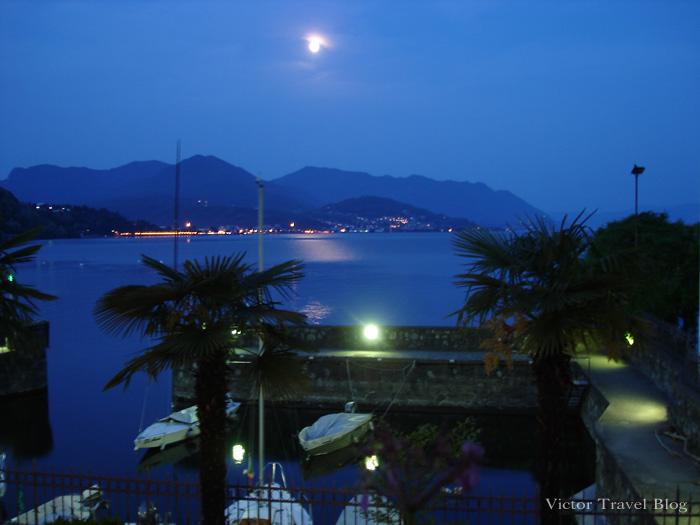 Lake Maggiore in Italy.