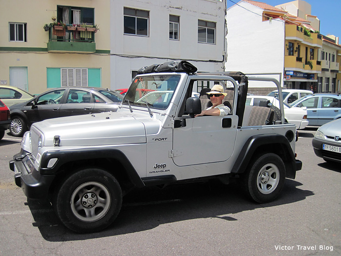 Jeep Wrangler soft top - grandfather of all jeeps of the world