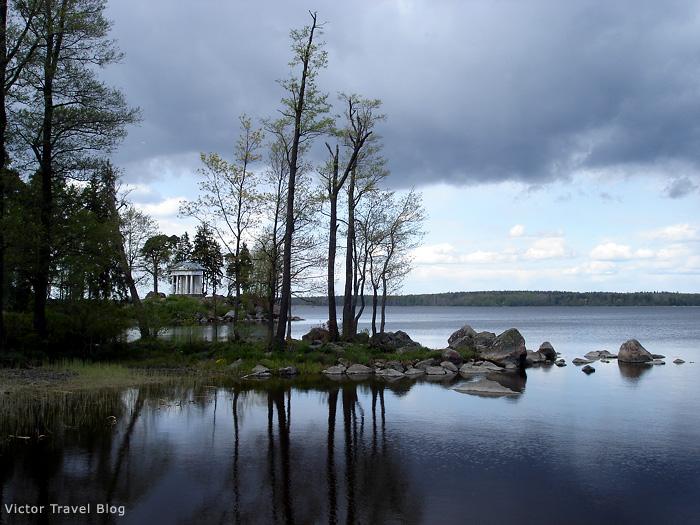Park Monrepo. Viborg, Russia.