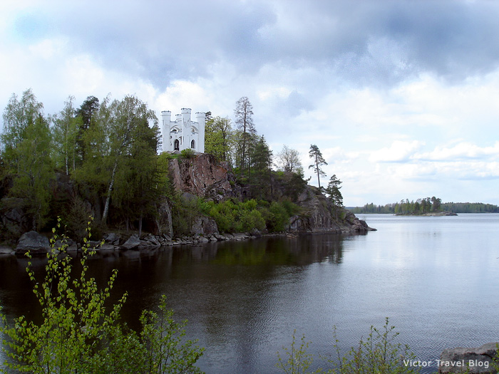 The Island of Deads. Park Monrepo. Viborg, Russia.