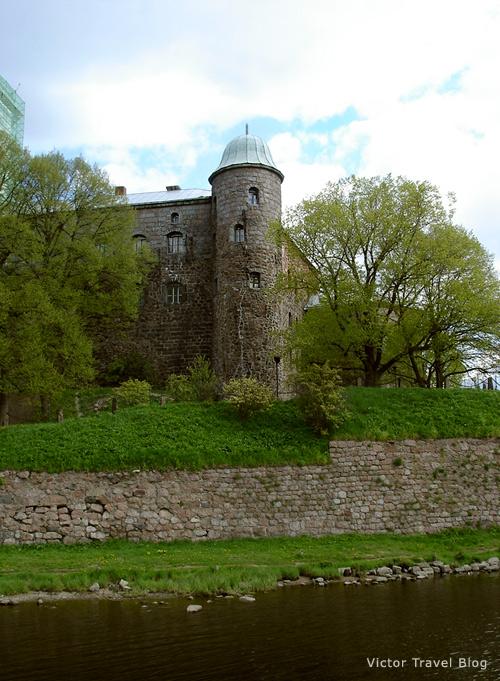 Russian castle of Viborg.