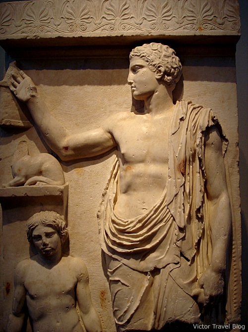 Classical Greek sculpture in Athens Archaeological Museum