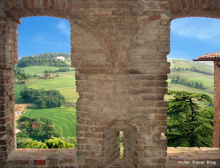 Dozza castle