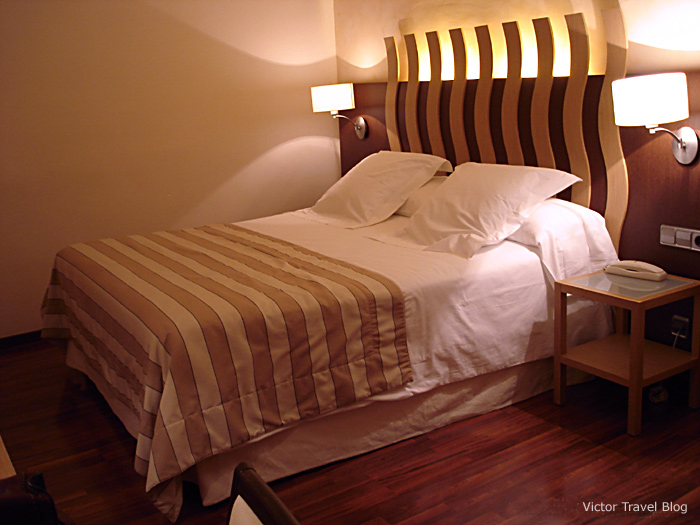 A room in the Duran Hotel & Restaurant, Figueres, Catalonia, Spain.