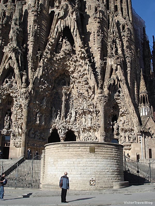 Sagrada Familia by Antonio Gaudi, Barcelona, Catalonia