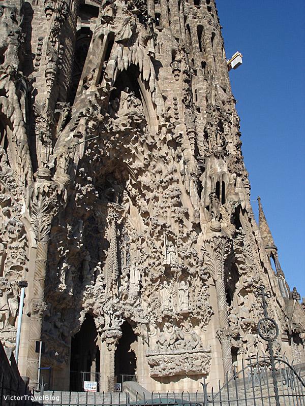 Sagrada Familia by Antonio Gaudi. Barcelona, Spain.