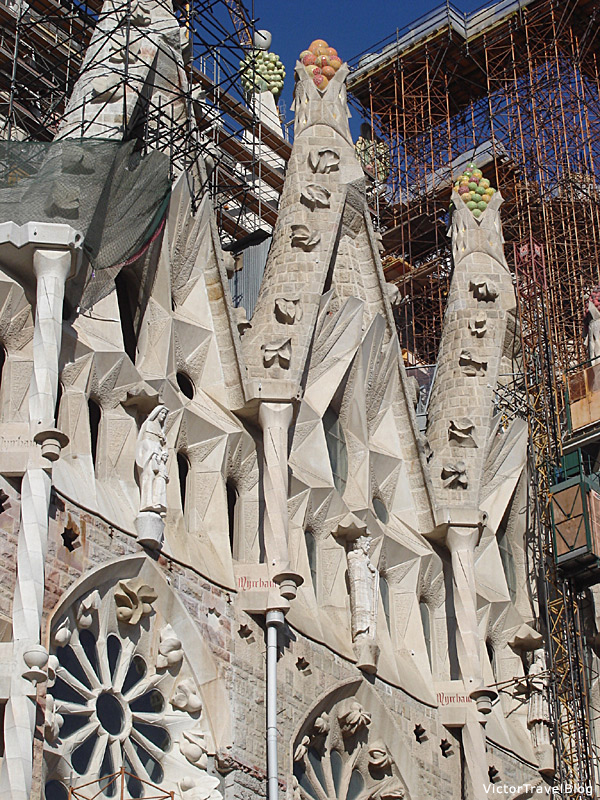 Sagrada Familia by Antoni Gaudi, Barcelona, Spain.