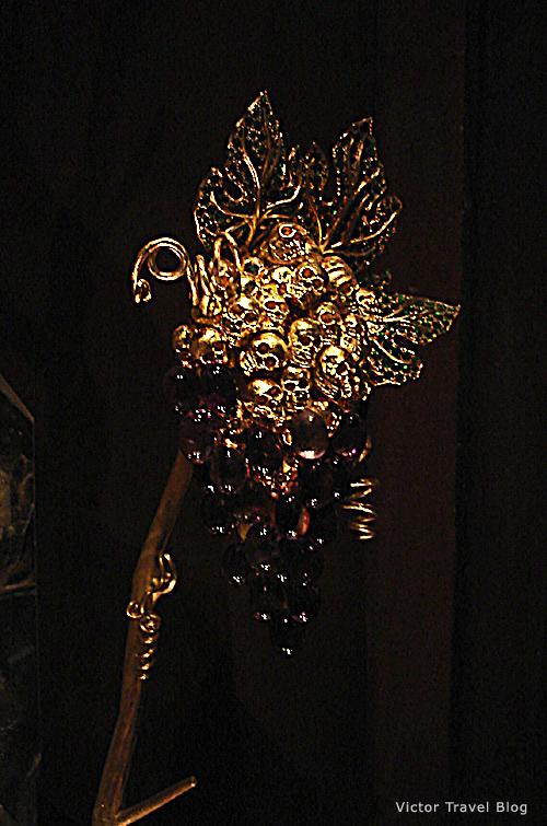 Salvador Dali jewelry. Figueres, Spain.
