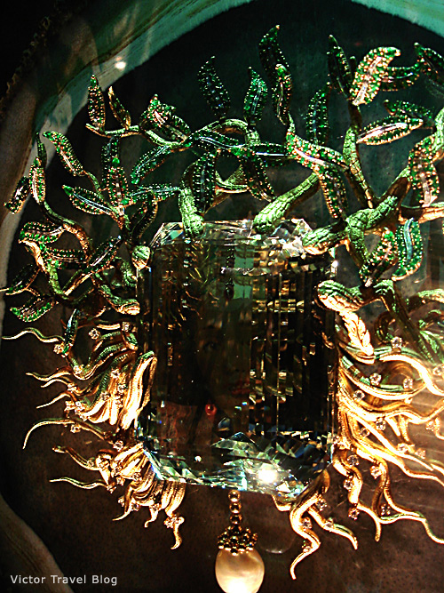 The Medusa. Salvador Dali jewelry. Figueres, Spain.