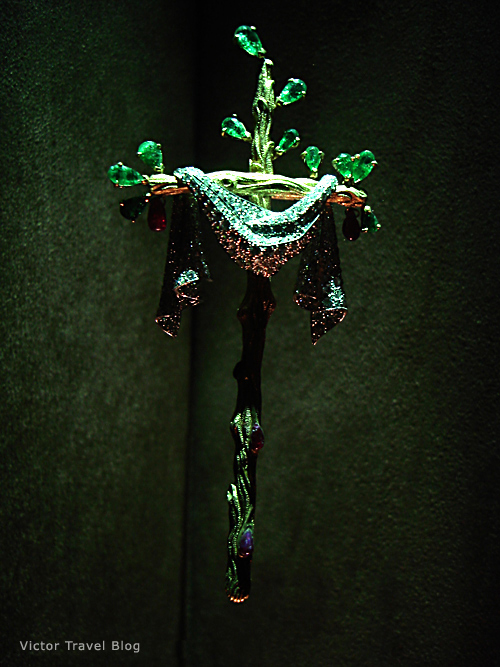 The Cross. Salvador Dali jewelry. Figueres, Spain.