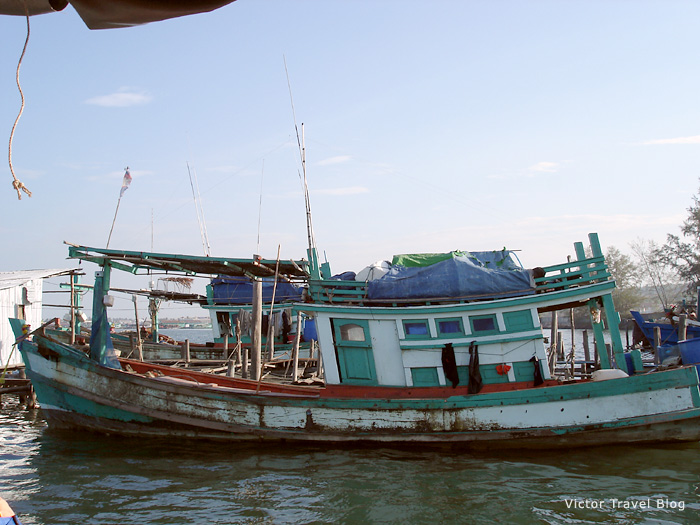 Excursion from Sihanoukville, Cambodia.