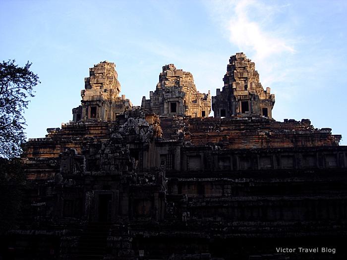 Ta Keo Temple, Cambodia. Sunrise.