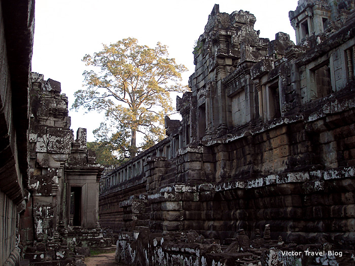 Temple of Ta Keo in Angkor, Cambodia.