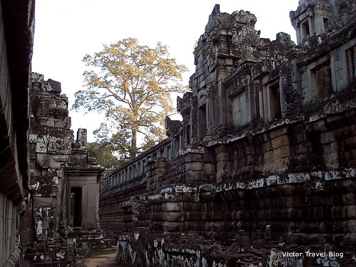 Temple of Ta Keo in Angkor, Cambodia.