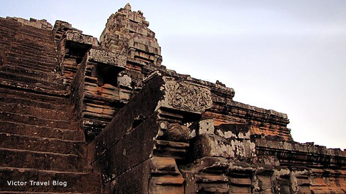 Ta Keo temple in Angkor. Cambodia.