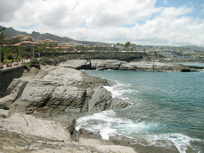 Torviscas Beach, Tenerife, Canary Islands.