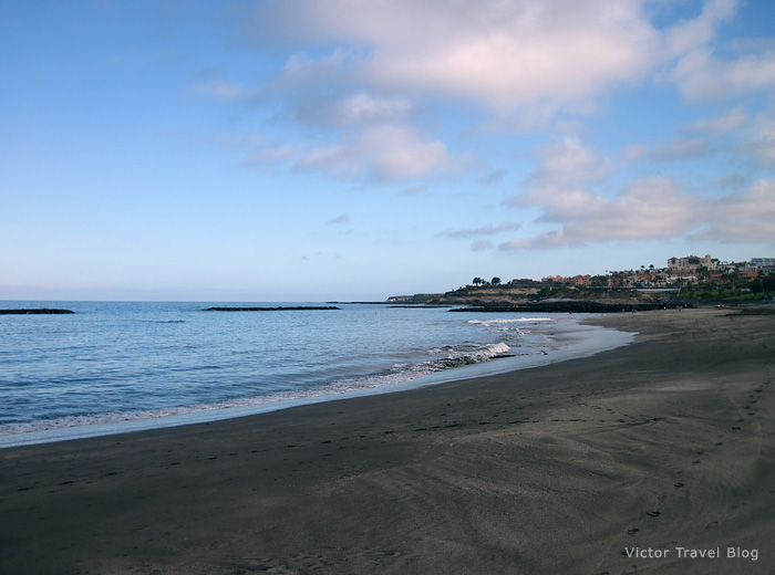 Torviscas Playa, Tenerife Canary Islands.