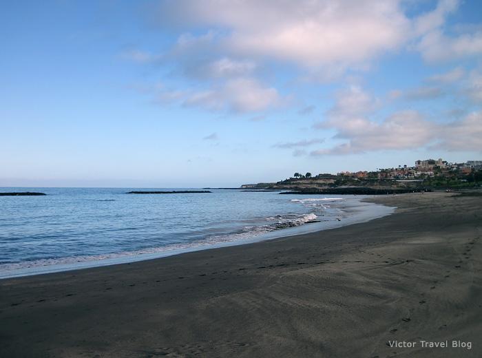 Torviscas Playa, Tenerife Canary Islands.