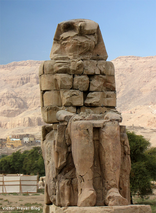 The the Colossi of Memnon, Luxor