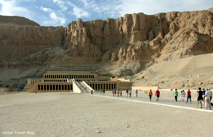 The Temple of Queen Hatshepsut, Egypt