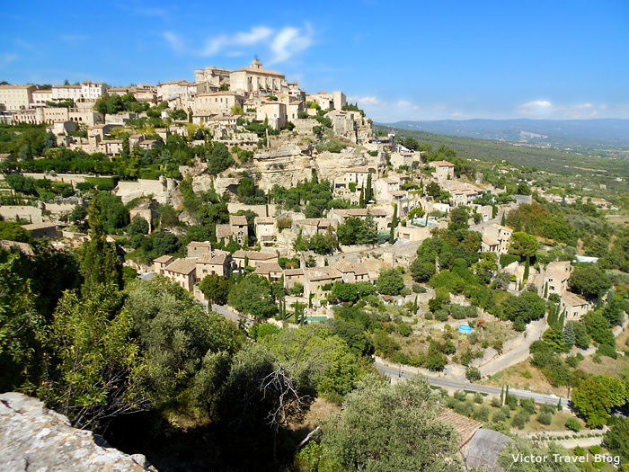 The town of Gordes. Provence, France.
