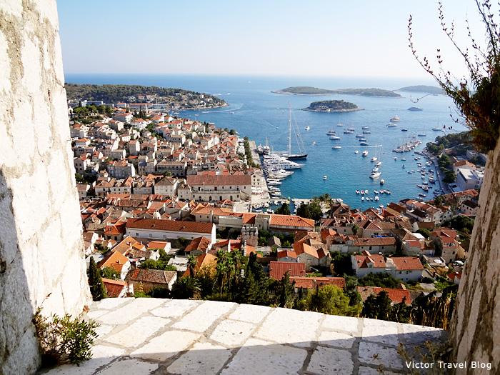 City of Hvar. Croatia.