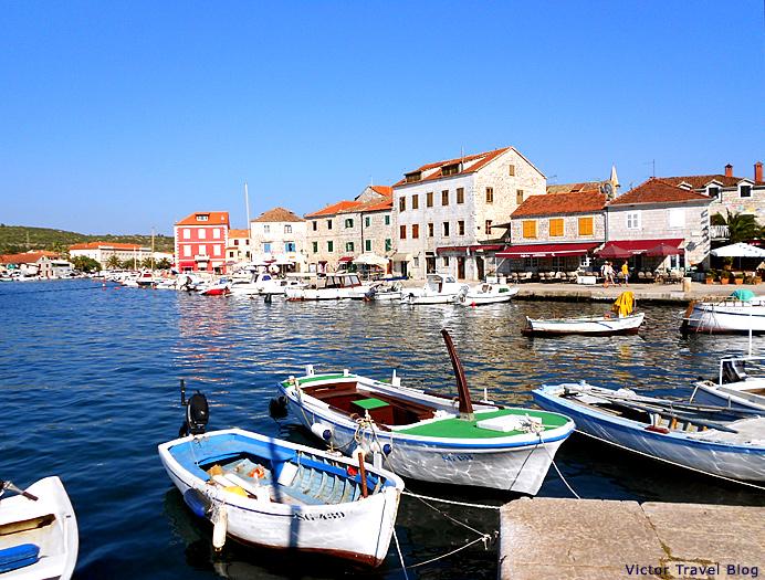 Stari Grad of the island of Hvar,Croatia.