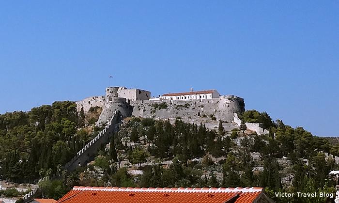 Spanjola Fortress. Hvar, Croatia.