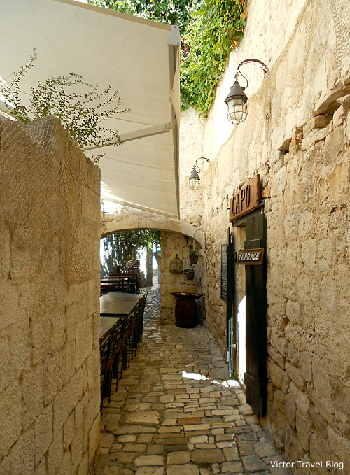 Restaurant Capo in Trogir, Croatia.