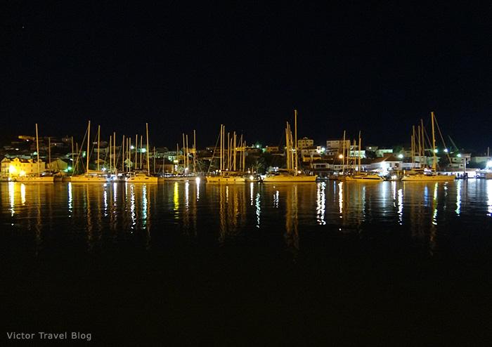 View on ACI Marina Trogir, Croatia.