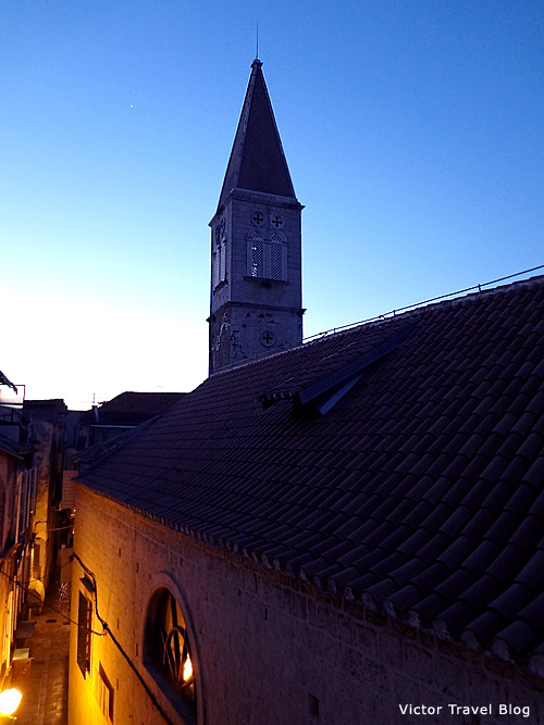 The Church of Sv. Petar, Trogir, Croatia.