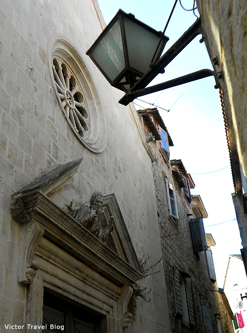 The Church of Sv. Petar. Trogir, Croatia.