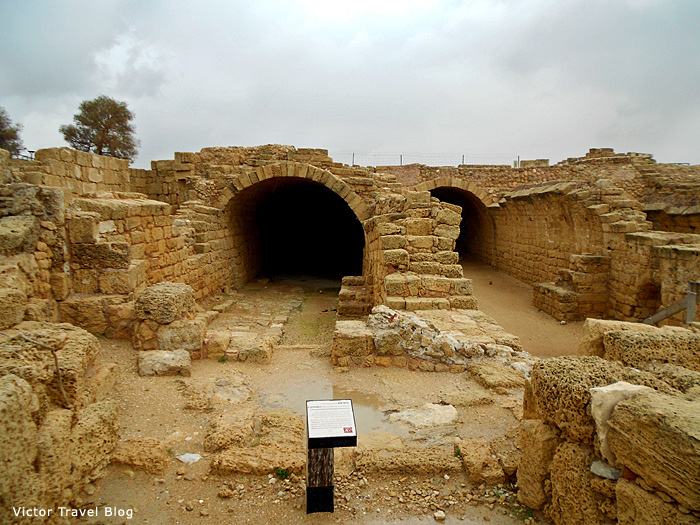 Barns of Caesarea, Israel