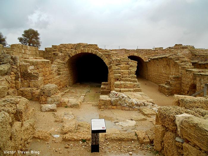Barns of Caesarea, Israel