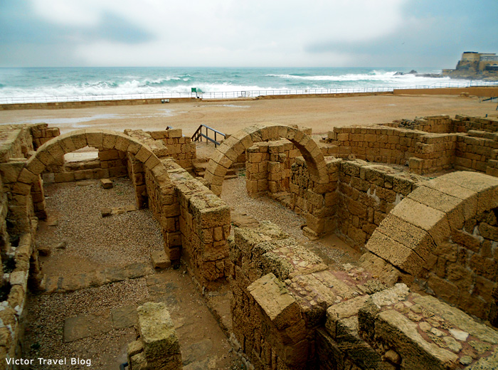 Barns of Caesarea, Israel.