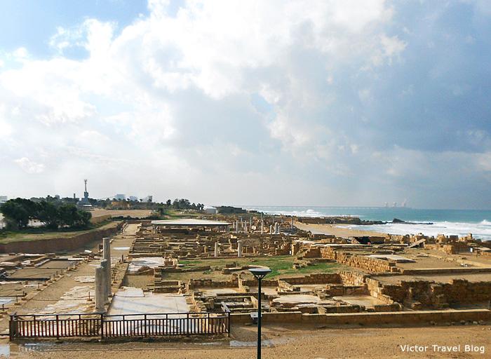 Ruins of Caesarea, Israel.