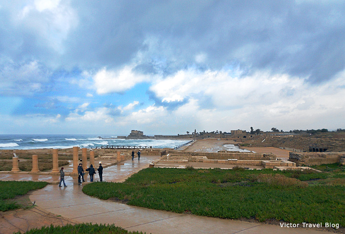 Hippodrome of Caesarea, Israel.