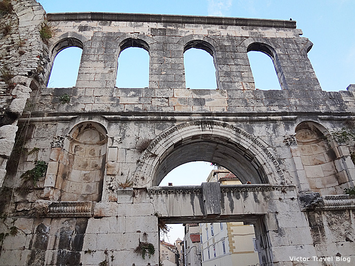 The Diocletian Palace. Split, Croatia.