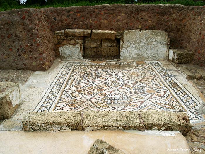 Mosaics of Caesarea, Israel.